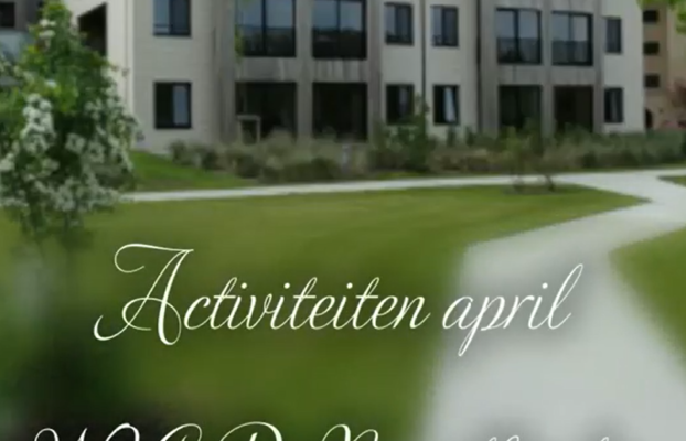 April in beeld – WZC De Noordhinder